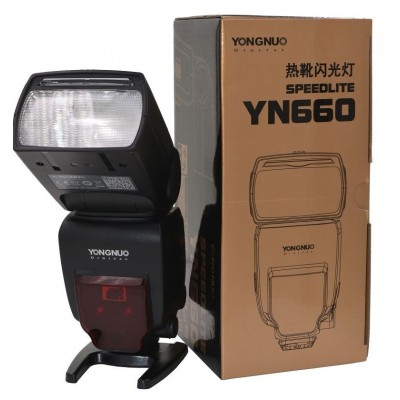 YN660 SPEEDLITE For Canon Eos 5DIII 6D 7D And Nikon D810 D750 D7200 Etc.