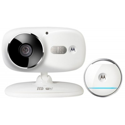 Motorola Wi-Fi HD Home Video Camera with Digital Zoom and Tag for Open/Close & Enter/Exit Updates - FOCUS86T