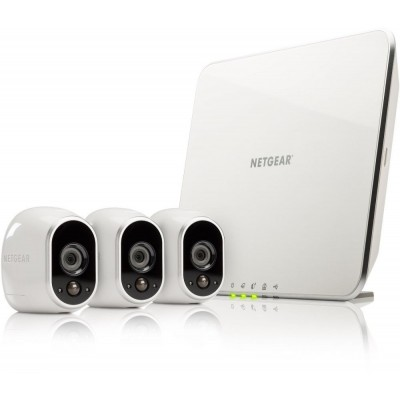 Netgear Arlo Security System with 3 HD Camera (VMS3330)