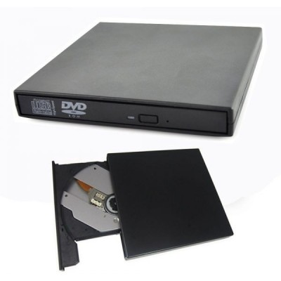 External PC Laptop USB 2.0 DVD CDR Writer Recorder Reader Player Burner Combo Drive Set