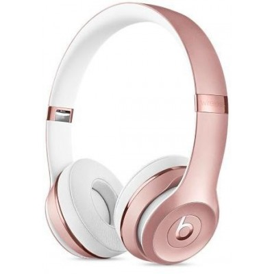 Beats Solo3 Wireless Over-ear Headphone, Rose Gold - A1796