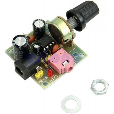 MINI LM386 Amplifier Board 3V-12V DIY Kit Parts and Components