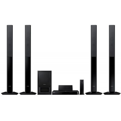 Samsung Tall Boy 3D Blu-ray Home Theater System [HT-H5550W]