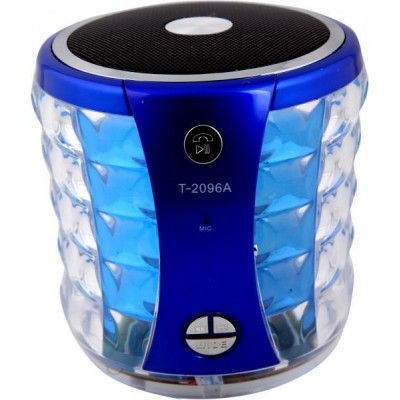 Portable Bluetooth Mini Speaker for Mobile Phones and Tablets, Blue
