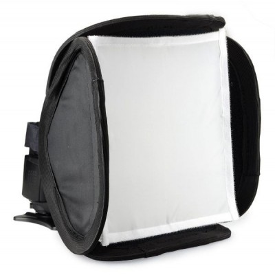 Flash Soft Box 9inch Portable Multifunction for Canon Nikon Pentax Olympus Flash Speedlite