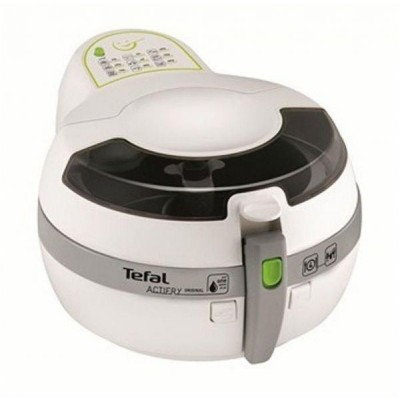 Tefal 1 Liter Actifry Deep Fryer - FZ701027, White & Gray