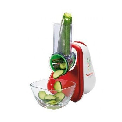 Vegetables electric Slicer and Grater, brand Moulinex, Model DJ755G