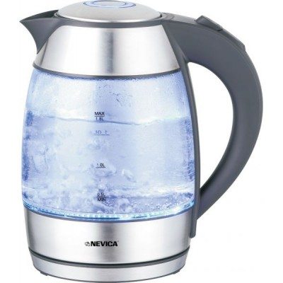 NEVICA Cordless Glass Electric Kettle