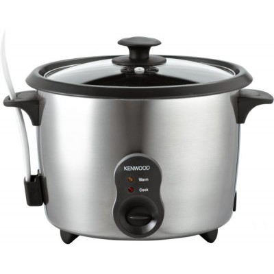 Kenwood Rice Cooker - Stainless Steel, RC417