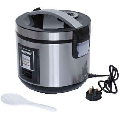 Black & Decker 2.8 Liter Non-Stick Rice Cooker - White, RC2850-B5Geepas 1.8 Liter Electric Rice Cooker