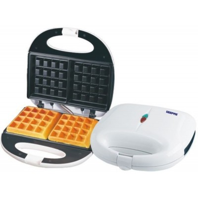 Geepas Electric White Waffle Maker, GWM676