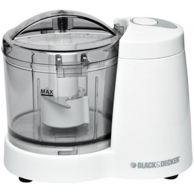 Black & Decker Mini Food Chopper - White, SC350